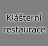 Klášterní restaurace
